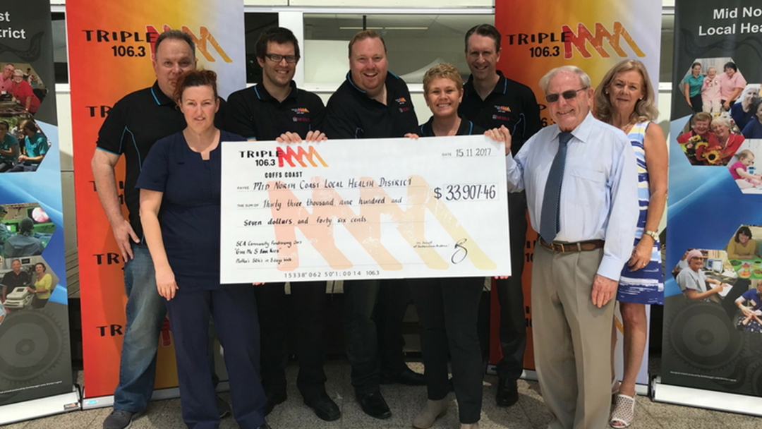 Triple M's Give Me 5 For Kids Raises $33,907.46 on Coffs Coast