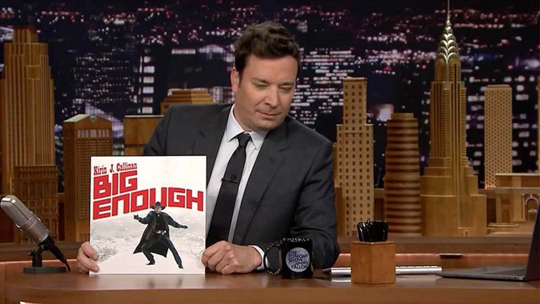 WATCH: Jimmy Fallon Bag Out Our Jimmy Barnes