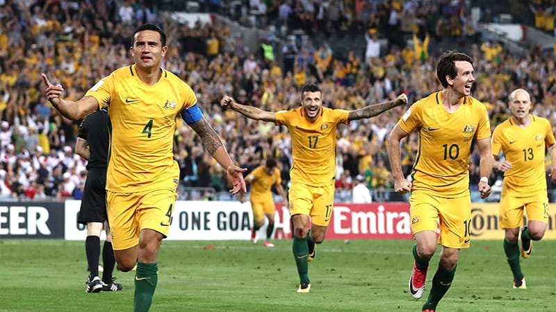 The Socceroos are through to the World Cup