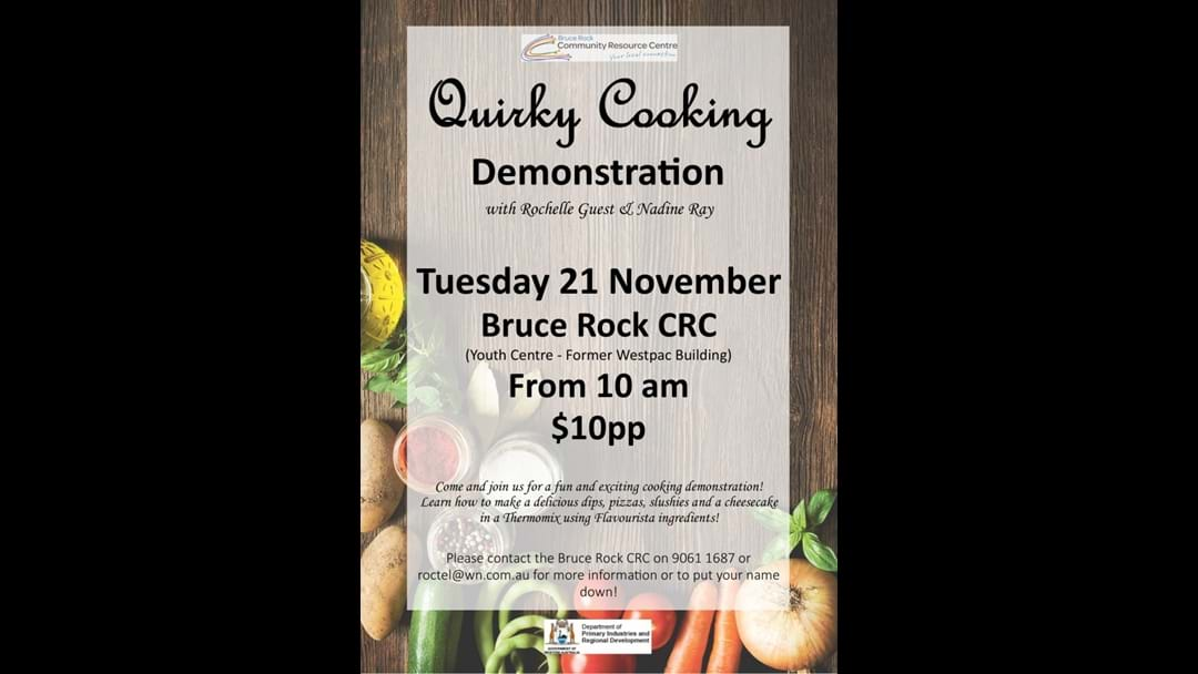 Quirky Cooking Demo