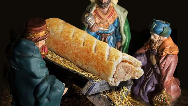 Remember the Last Supper controversy? Now it's a sausage roll