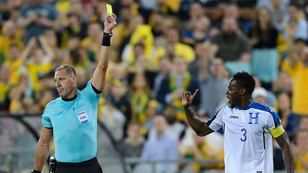 The Honduras Captain Reckons The World Cup Qualifier Ref Was Paid Off