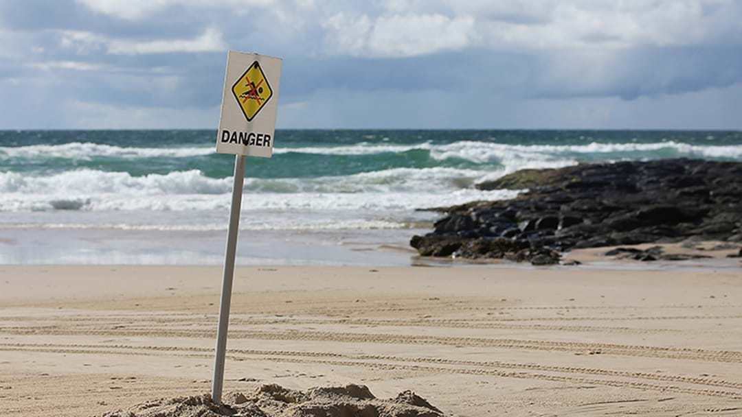 A Hazardous Surf Warning Is In Place For The Gold Coast Today.