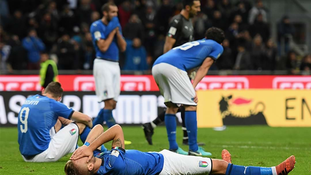 Italy Had Already Booked Their Accommodation In Russia For The World Cup