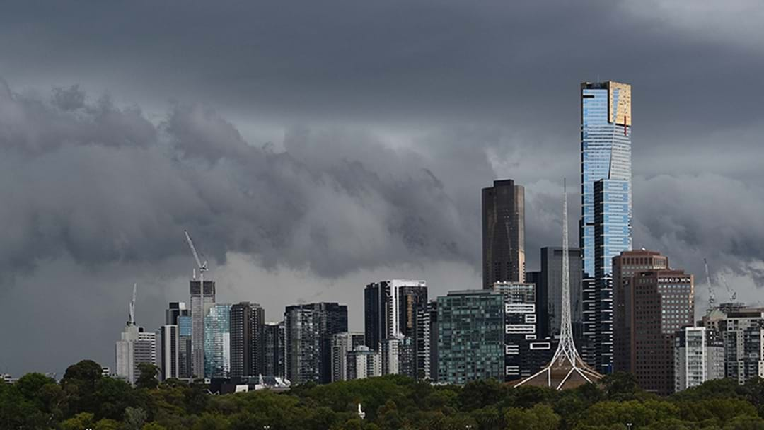 Severe Thunderstorm Warning Issued Across Melbourne