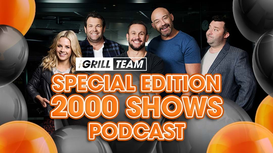 Get The Grill Team's Special Edition 2000 Shows Podcast Here!