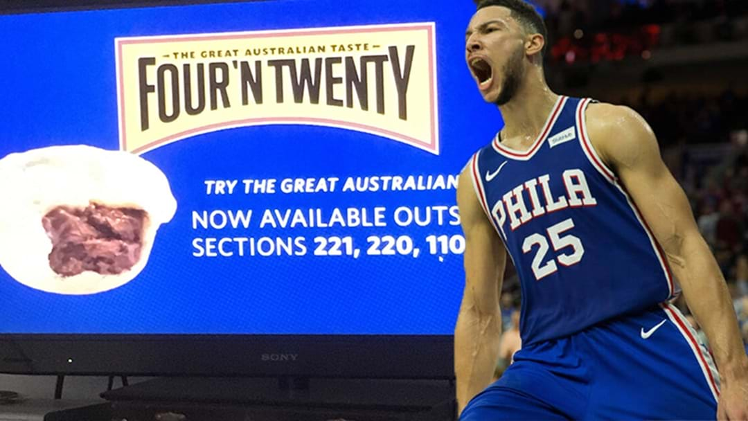 Ben Simmons Fever Hits Its Peak With Philadelphia 76ers Now Selling Four 'N Twenty Pies