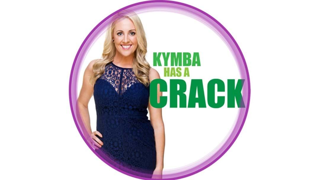 Kymba Has A Crack At The Shakti Mat