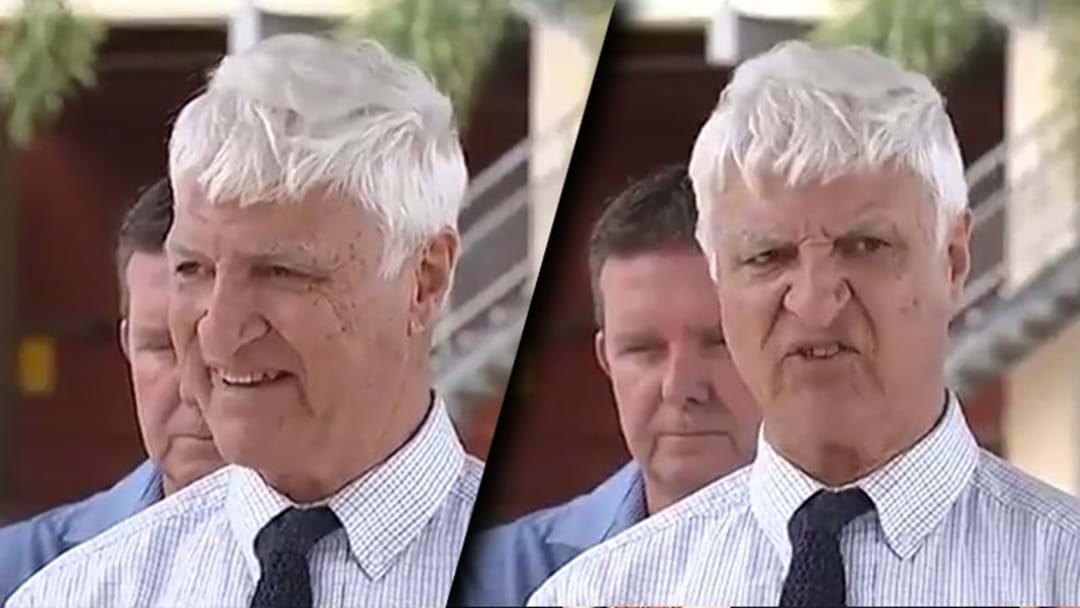 Bob Katter's Rant About Same Sex Marriage And Crocodile Attacks Is Going Viral