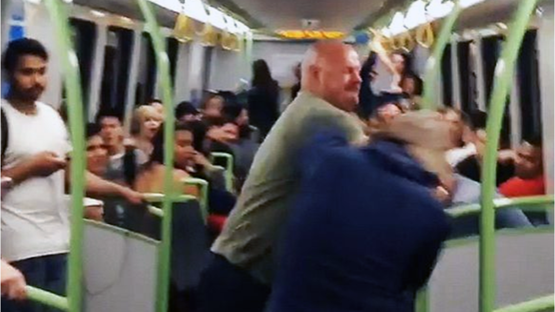 Brawl Over oBikes Breaks Out On Melbourne Train