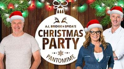 AJ, Bridge & Spida's Christmas Party