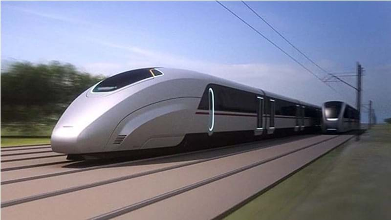 High Speed Train California Travel Time