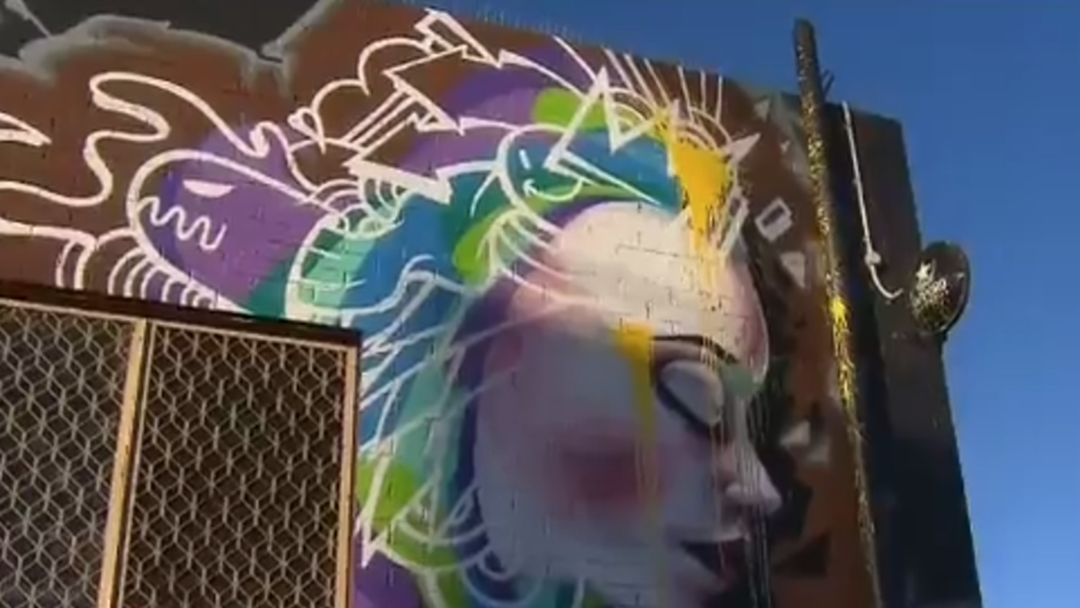 Vandals Target Iconic Perth Street Art