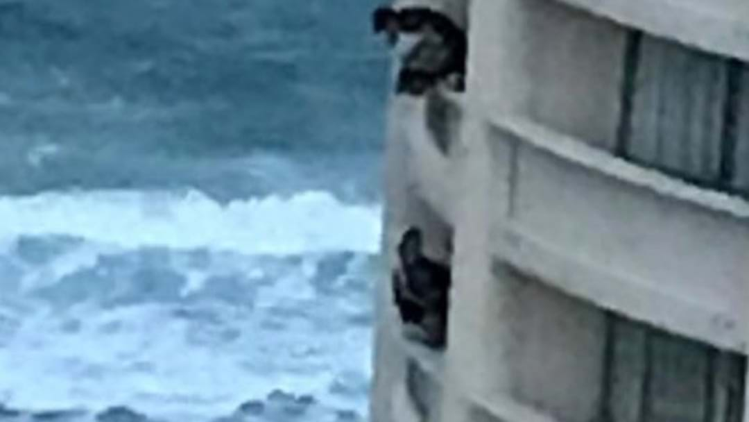 Teens Spotted Hanging From Balconies As Schoolies Continues