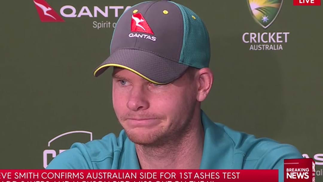 Steve Smith Confirms The Team For Australia's First Ashes Test