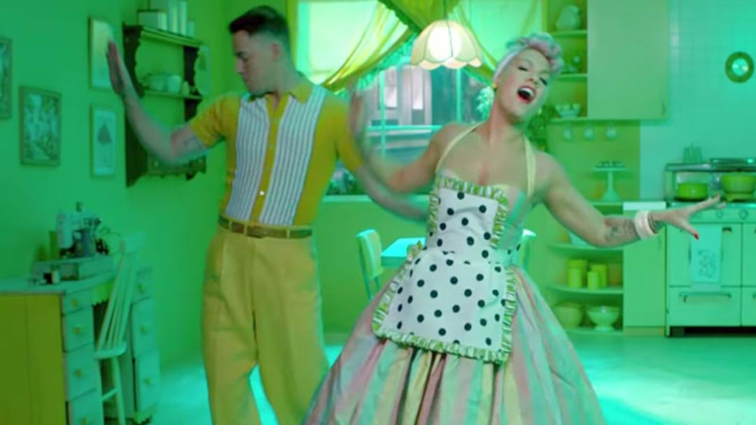 P!nk's Latest Video Clip Stars Channing Tatum And It's AMAZING!