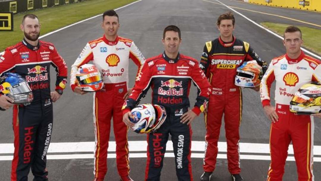 One Of These Five Guys Will Be Crowned Supercars Champion This Weekend