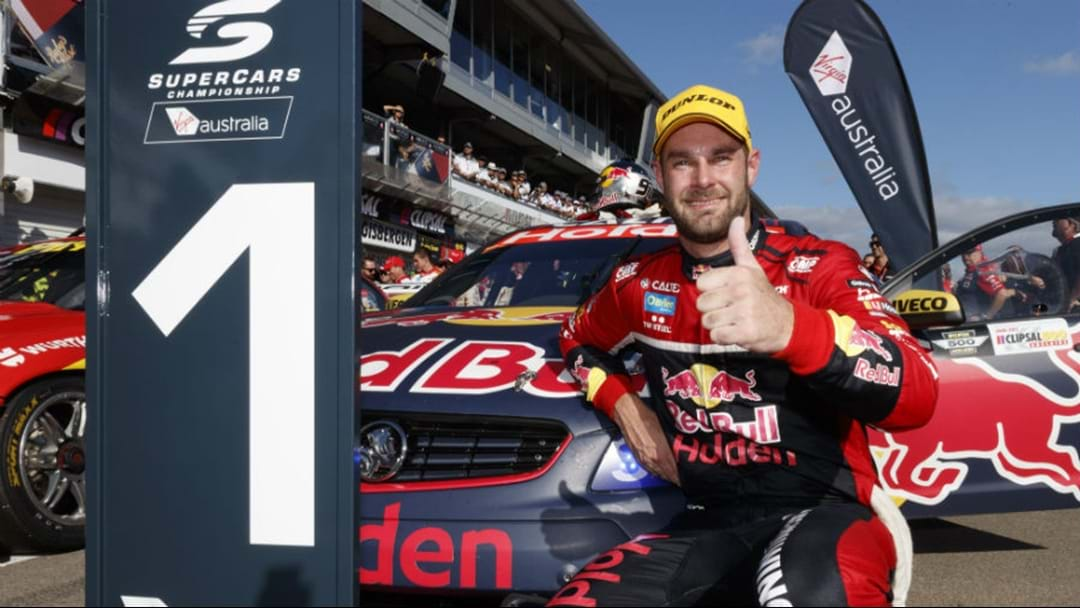 Shane Van Gisbergen Stripped Of Race Win At Newcastle 500