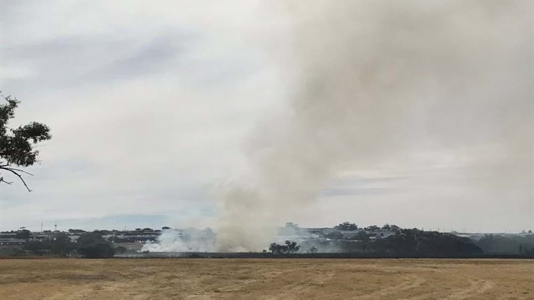 Bushfire Sparks Warning For Woodvale