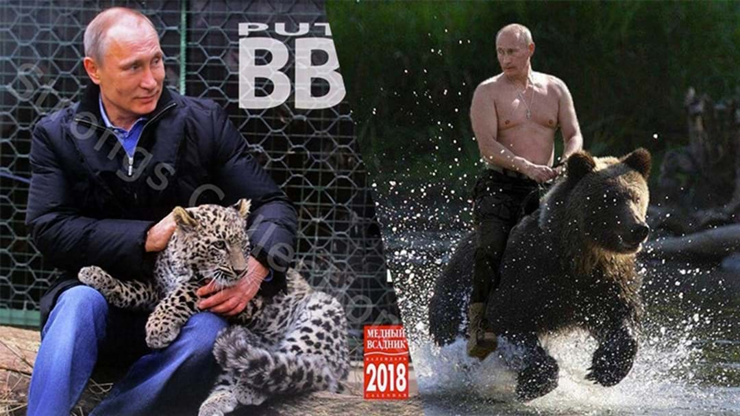 Treat Yourself To The Ultimate Christmas Present, A 2018 Vladimir Putin 'Action' Calendar