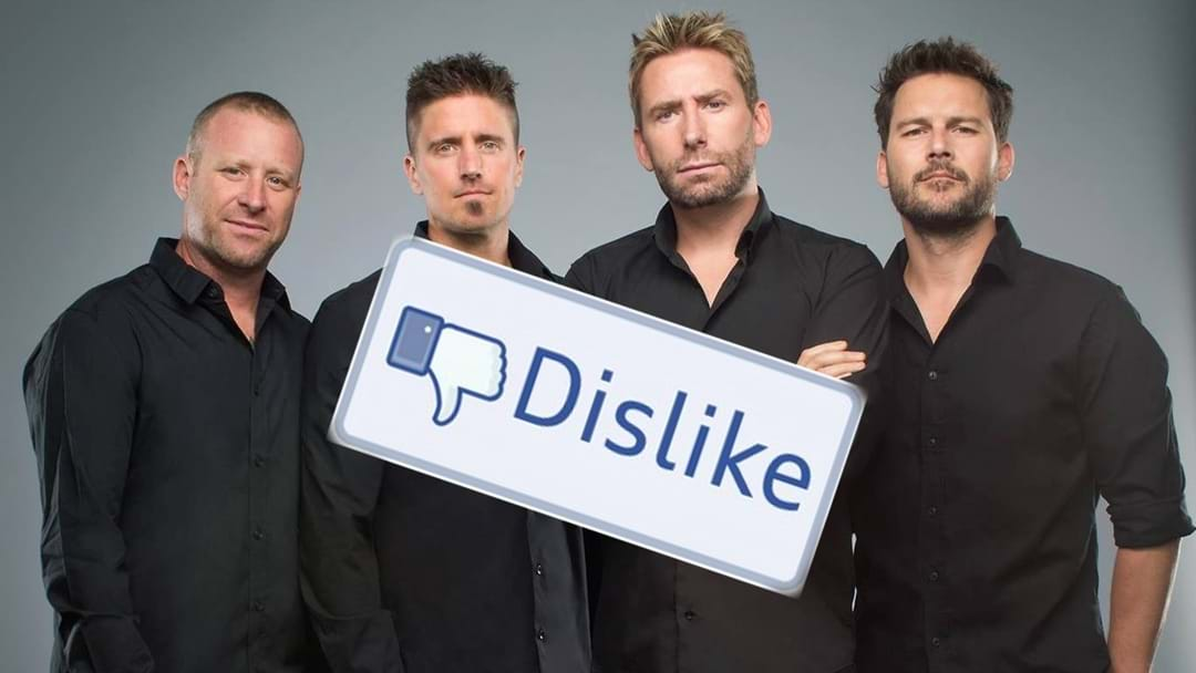 New Nickleback Single Makes Star Of Film Clip Throw Up