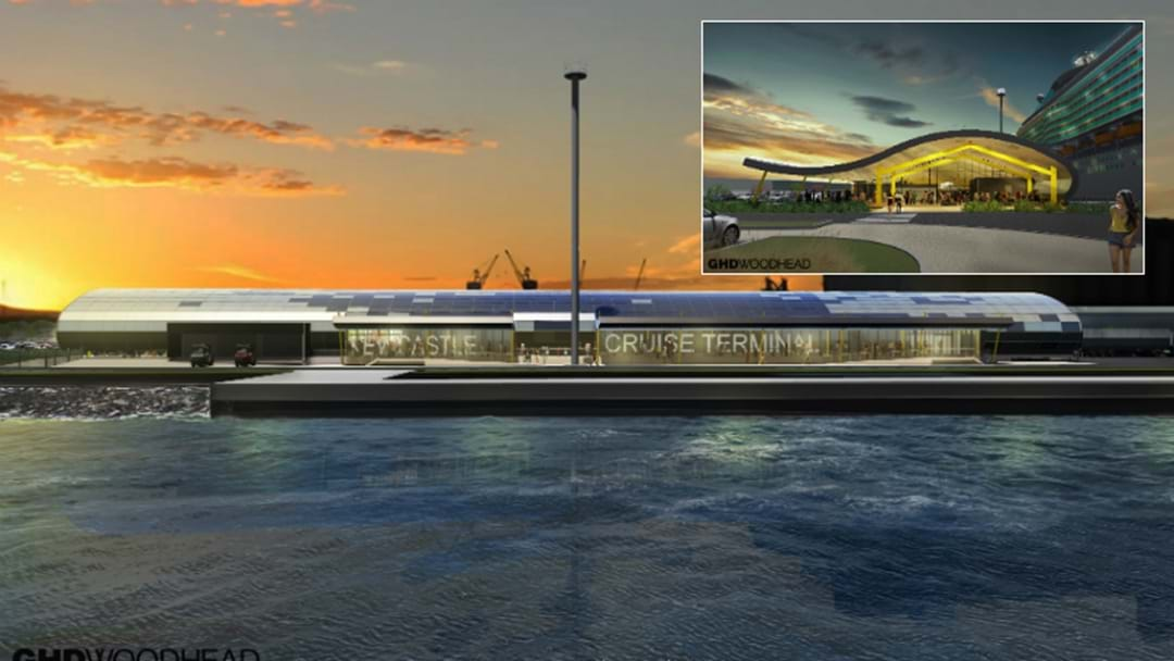REVEALED: See What The Newcastle Cruise Terminal Will Look Like
