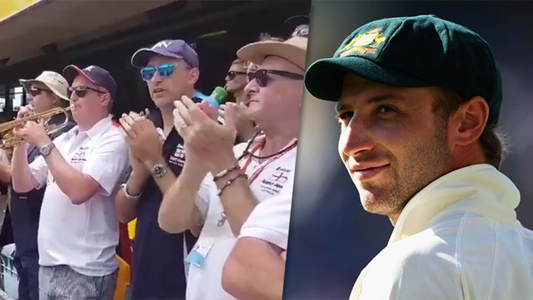 The Barmy Army's Tribute To Phil Hughes Is All Class
