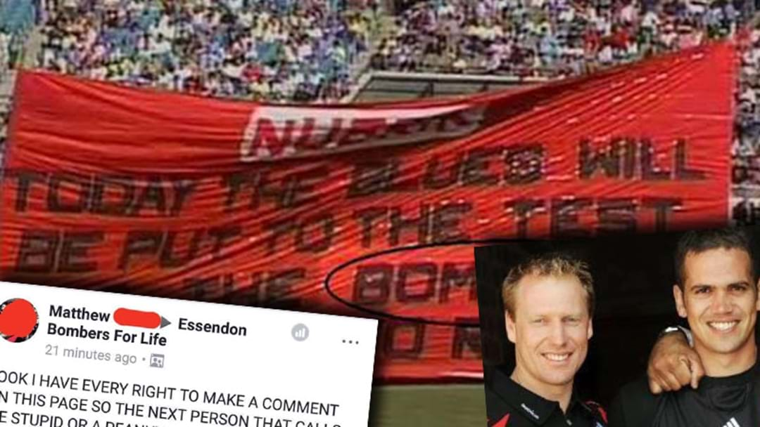 It's Essendon Week On Nuffies On AFL Pages