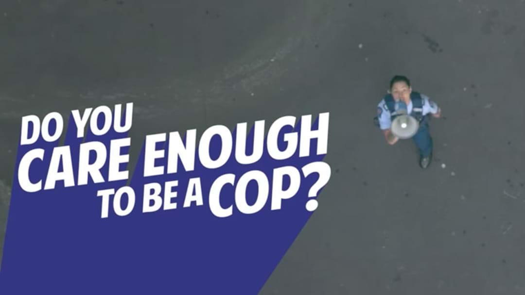 NZ Cops Produce A Police Recruitment Vid Which Is Only Slightly 'Out There'