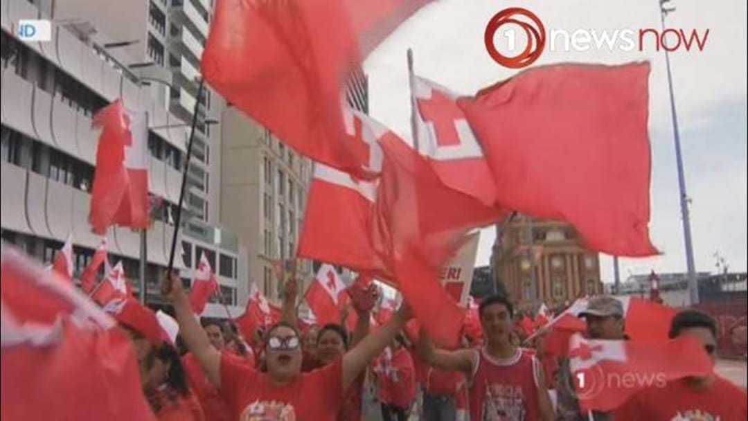 'Give Us Our Win' - Tongan Fans Continue Protest