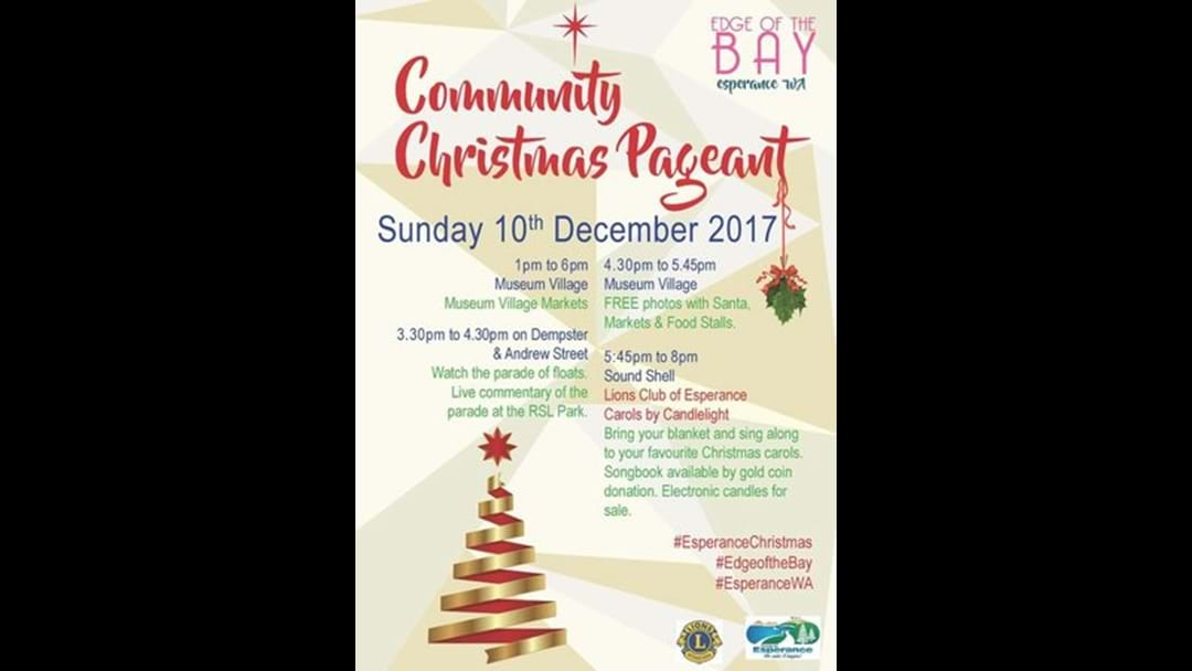 Community Christmas Pageant