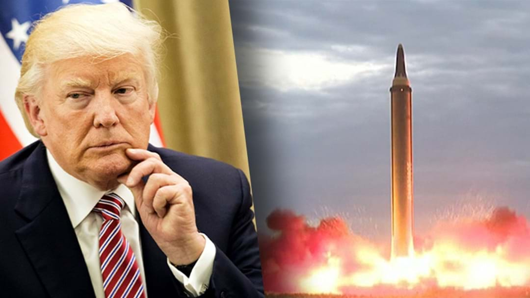 North Korea Launches Another Missile... Trump Says 'We'll Take Care Of It'