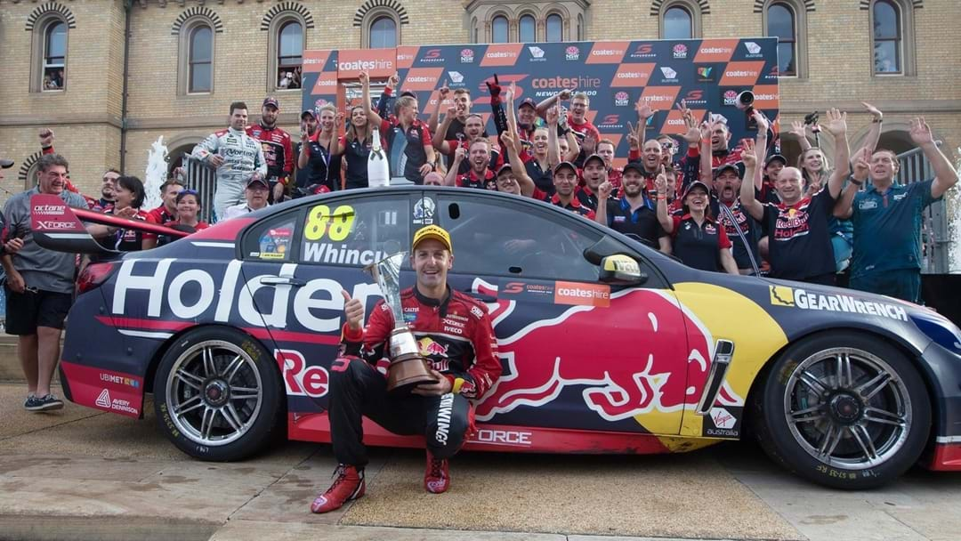 Jamie Whincup Says Personal Sacrifices Helped Him Win Title