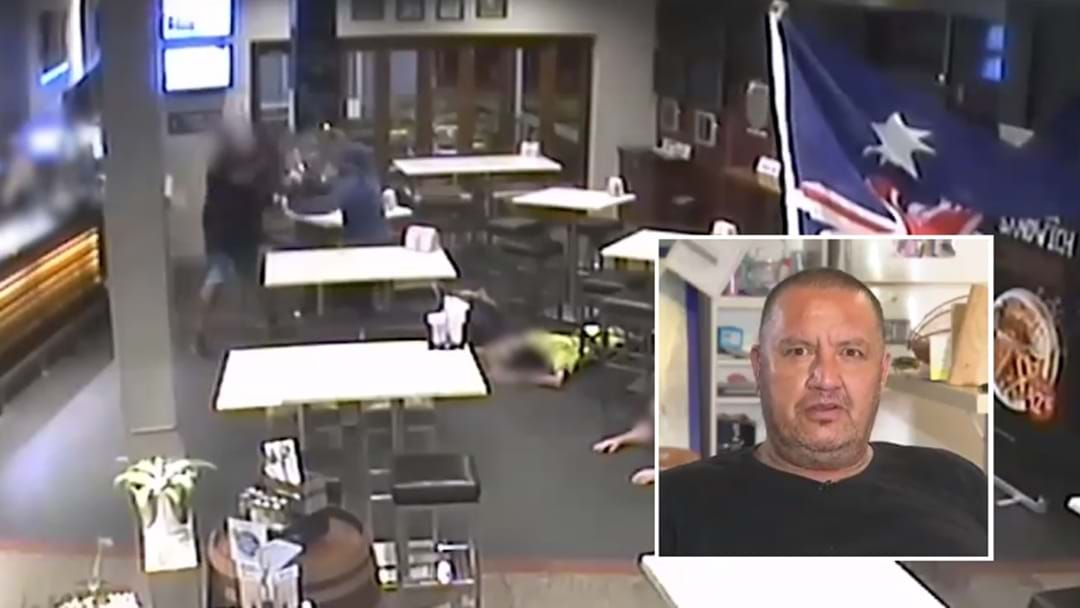 Local Hero Smashes Armed Robber With Bar Stool At Brisbane Pub