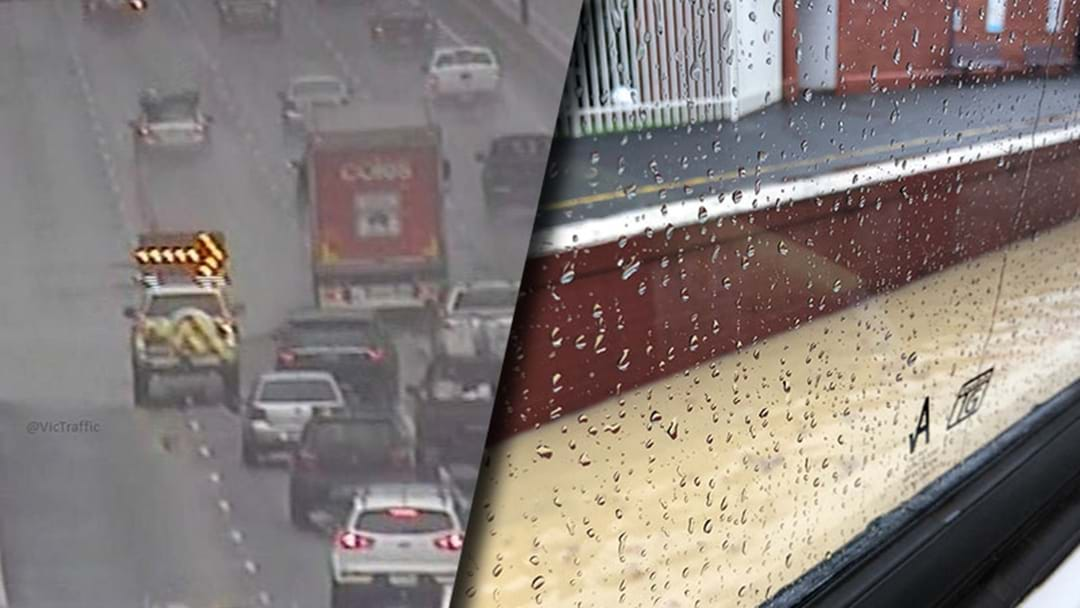 Melbourne Trains And Roads Are Stuffed Because Of The Rain