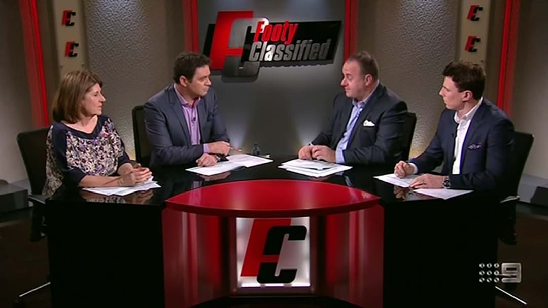 Craig Hutchison And Damian Barrett Discuss Garry Lyon's Potential Footy Classified Replacement