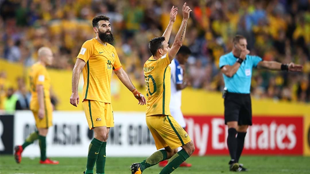 The Kick Off Times For The Socceroos World Cup Games Are Actually Pretty Good