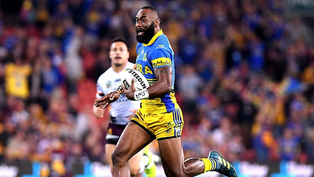 Plenty Of Room For Semi Radradra At The Eels In 2018