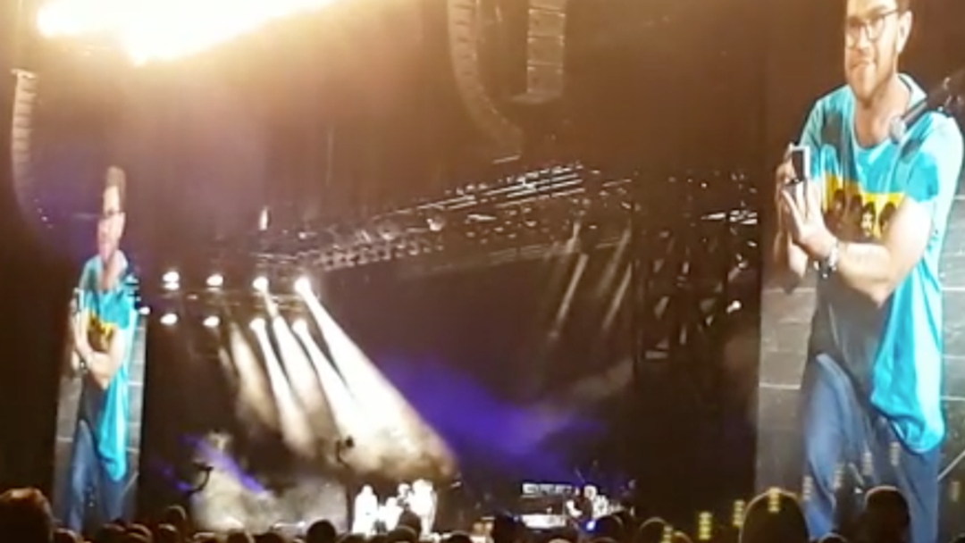 Paul McCartney's Stage Taken Over By Impromptu Proposal