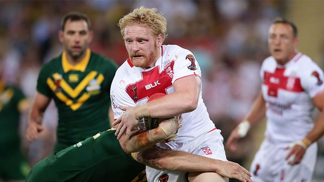 James Graham Responds After Verbal Spray Was Caught On Referee Microphone