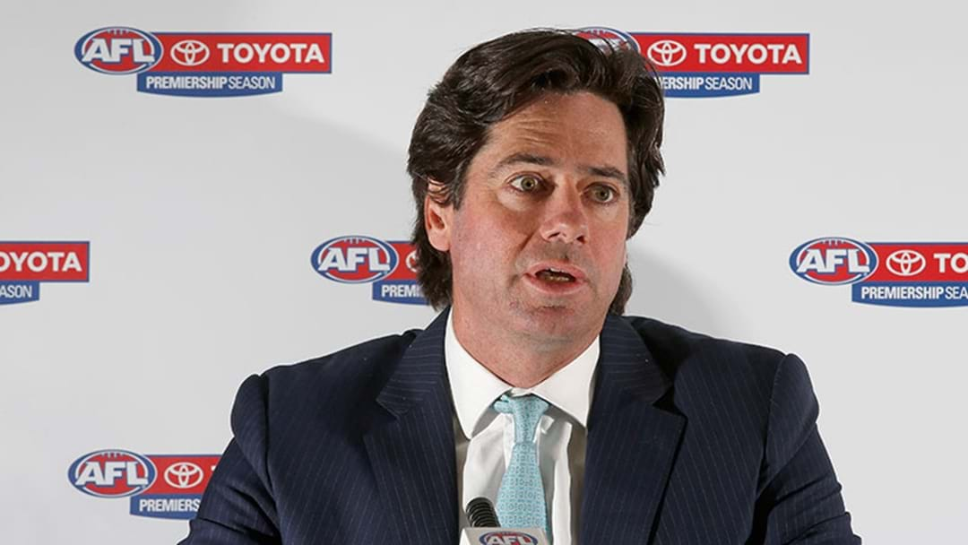 Gillon McLachlan Holds Press Conference For 'Important Announcement'