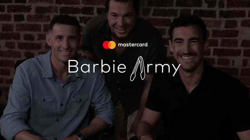 Article heading image for Mastercard Has Tried To Create A 'Barbie Army' Song In Response To The Barmy Army And It's Bad