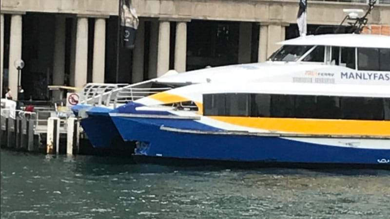 Article heading image for Packed Sydney Ferry Smashes Into Wharf During Peak Hour