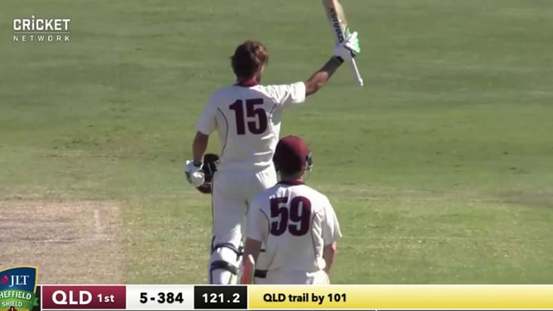 Article heading image for Joe Burns Notches Up A Double Ton In The Sheffield Shield