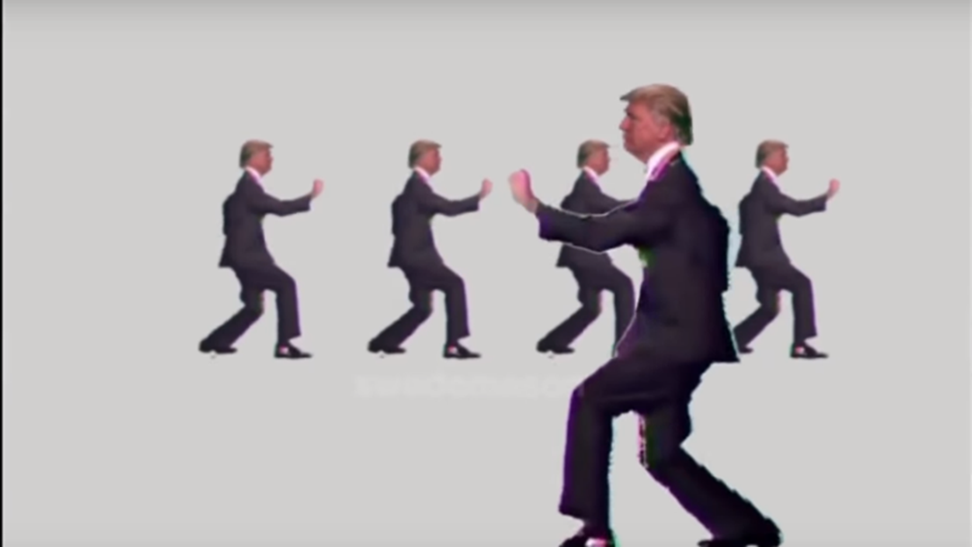Talking Heads Classic Gets A Trump Makeover