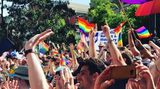 Lawmaker proposes during Australian same-sex marriage debate