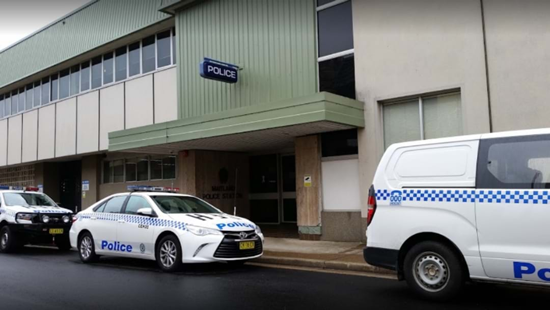 Hand-Cuffed Prisoner Tries To Escapes Maitland Police Station