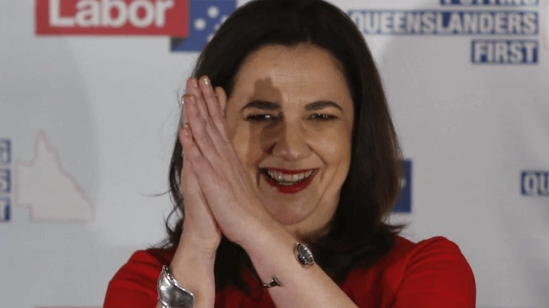 Annastacia Palaszczuk claims victory in Queensland state election