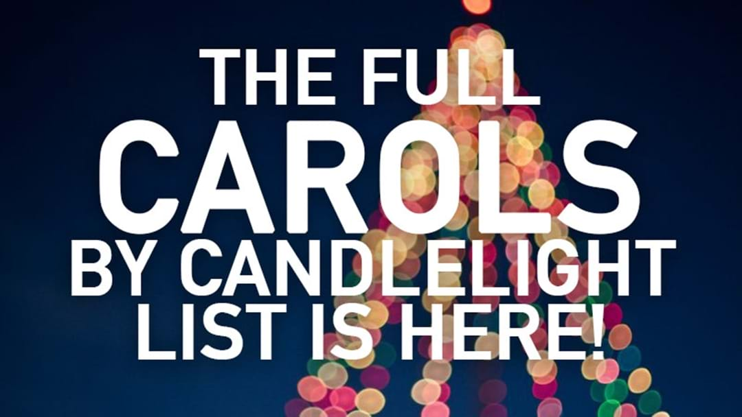 Carols by Candlelight in Newcastle and The Hunter