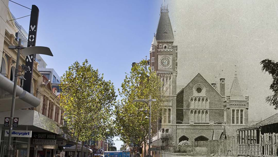 The Perth 'Now-Then' Website Is Highly Addictive